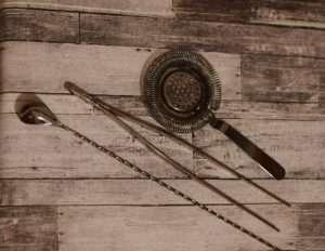 combo colador pinza y cuchara